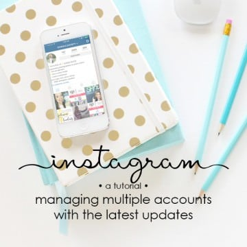 login to instagram with multiple accounts