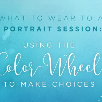 immerse workshops family portrait clothing ideas using color