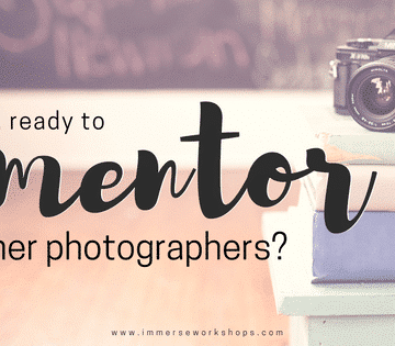 photography mentoring