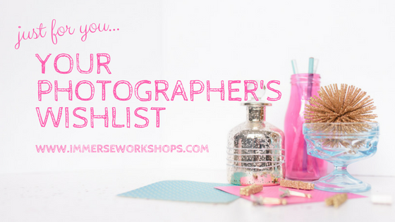 a photographers wishlist from sparkle society