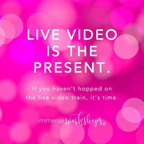 Sparkle Society Facebook Live Video