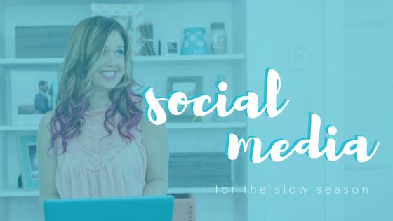 Social Media in the Slow Season sparkle society