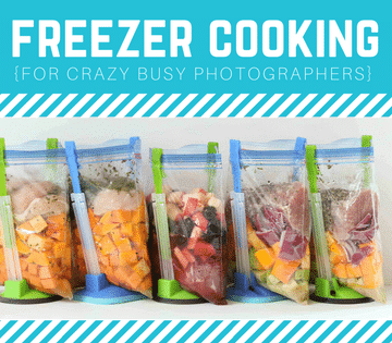 freezer cooking with OAMM and sparkle society