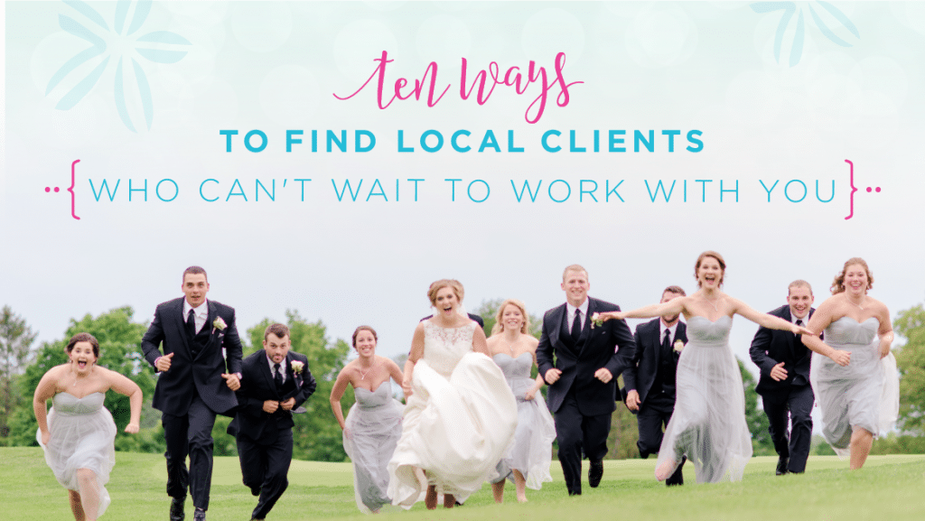 sparkle society 10 ways to find local clients blog
