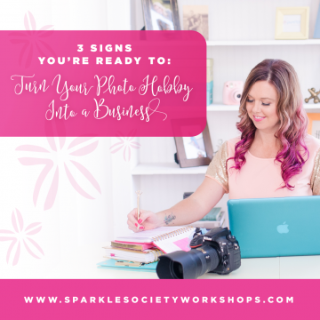 how to start a photography business sparkle society