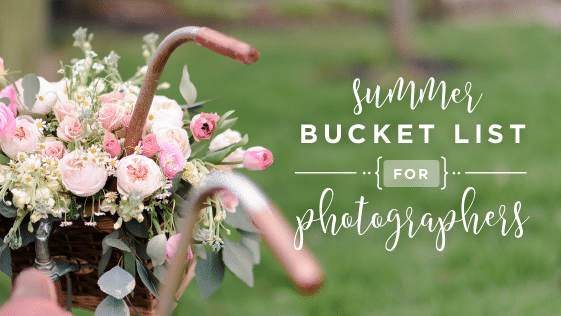 photography bucket list
