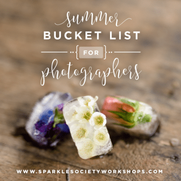 bucket list for photographers