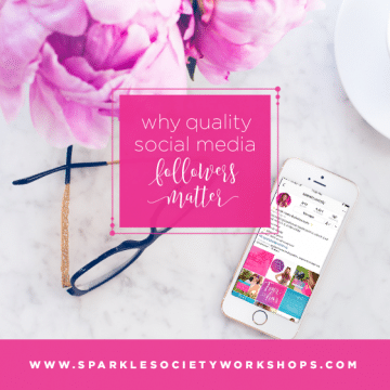 social media followers sparkle society