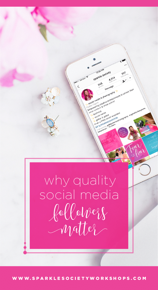 Do you have quality social media followers? Quality always comes over quantity when it comes to social media followers. Make sure yours are legit! Pin now to make sure your photography business is ready to shine online with quality followers!