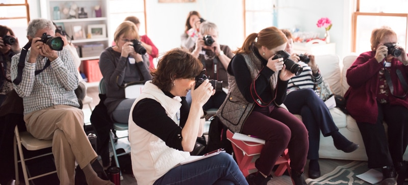 teach camera classes with sparkle society
