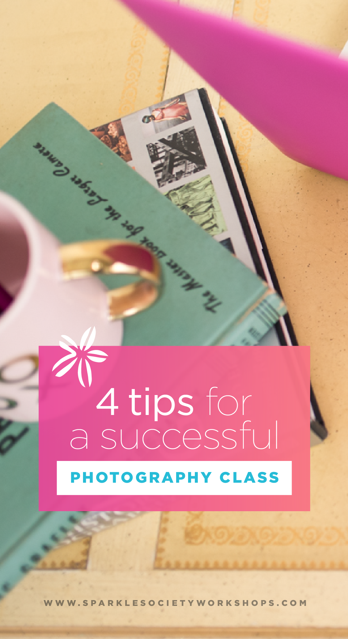 Ready to teach a successful photography class with confidence? Let's do this! Grab my 4 simple steps to making your class the best-ever! Pin now, plan later!