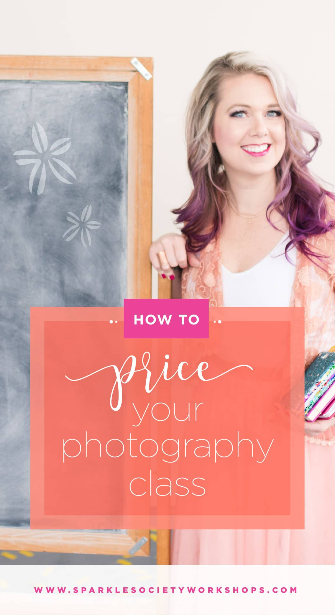The overwhelm is real when it comes to pricing your beginning photography class, but I've laid it out so you can provide value and confidently charge your worth. Pin now, put in practice later!
