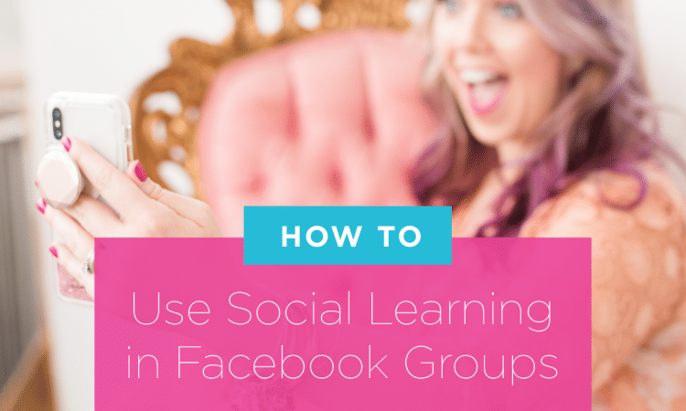 facebook groups social learning