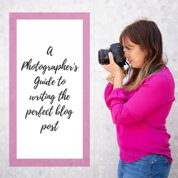 blogging your phootgraphy sessions