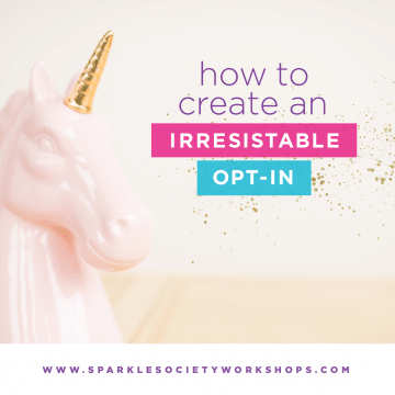 Create an irresistible opt-in
