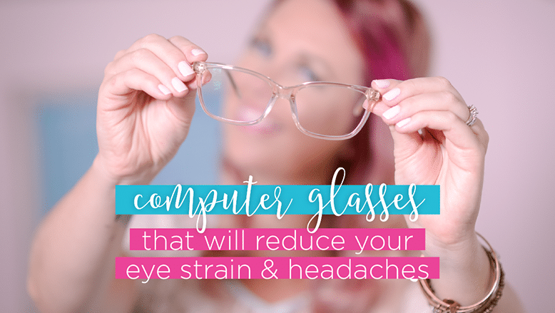 cute computer glasses to reduce headaches