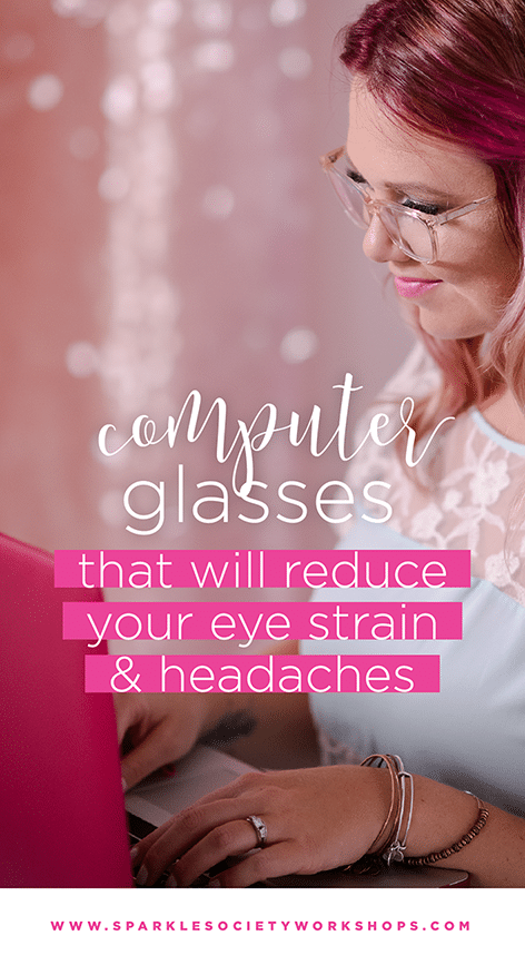 Cute Computer Glasses Fix Eye Strain & Reduce Headaches!  Let me show you how I fixed my
