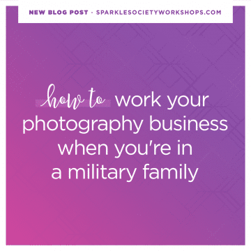 military family photography business